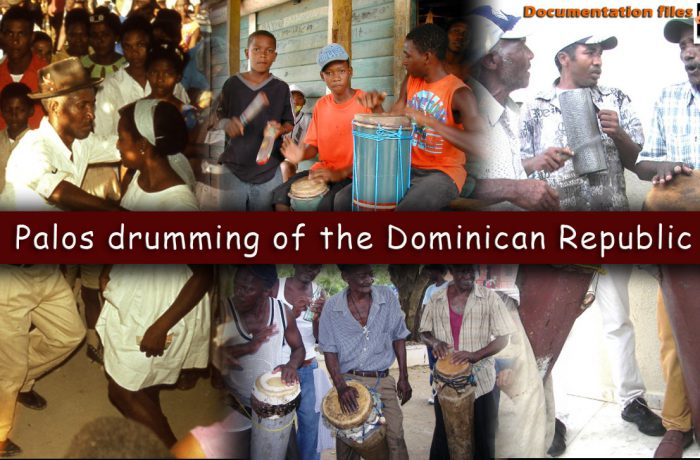 Palos drumming of the Dominican Republic